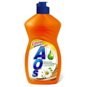 AOS средство для мытья посуды Бальзам ромашка и Вит.Е 450гр