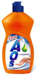 AOS средство для мытья посуды Глицерин 450мл