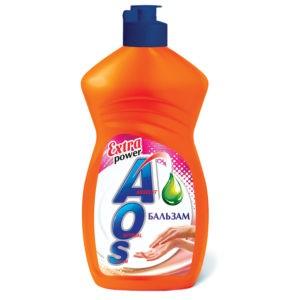 AOS cредство для мытья посуды Бальзам 450гр
