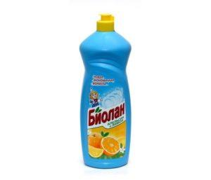 Биолан жидкость для мытья посуды Апельсин и Лимон 900гр