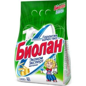 Биолан порошок стиральный Авт Эконом Эксперт 2,4кг