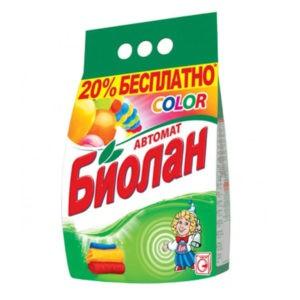 Биолан порошок стиральный Авт Color СМС 1,2кг