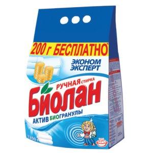 Биолан порошок стиральный Руч Эконом эксперт пак 1,2кг