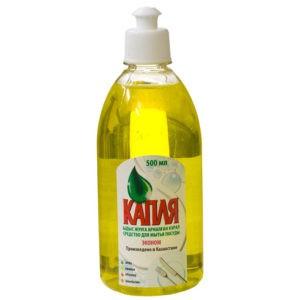 Капля Средство для мытья посуды Лимон 500мл
