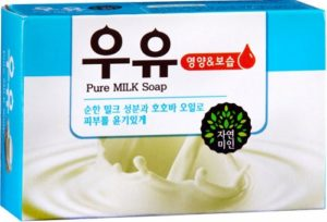 Косметическое мыло с Молоком и Маслом Жожоба 100гр