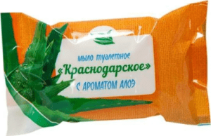 Краснодарское Туалетное Мыло с Ароматом Алоэ 200гр