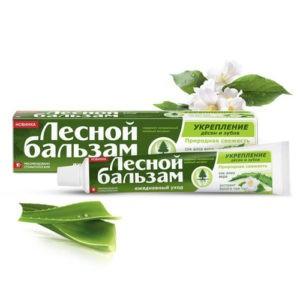 Лесной бальзам зубная паста Алоэ и Белый Чай 75мл
