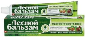 Лесной бальзам зубная паста Кора Дуба и пихта 50мл