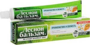 Лесной бальзам зубная паста Ромашка и масло Облепихи 75мл