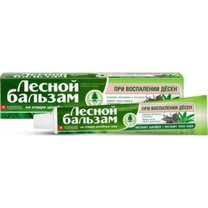 Лесной бальзам зубная паста Шалфей и Алоэ Вера 75мл
