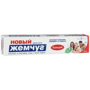 Новый Жемчуг Зубная паста Кальций 75мл