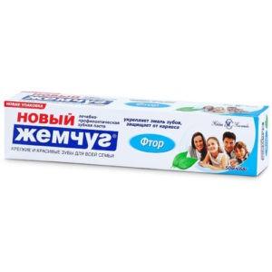 Новый Жемчуг Зубная паста Фтор 50мл