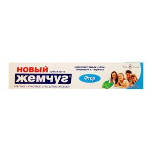 Новый Жемчуг Зубная паста Фтор 75мл