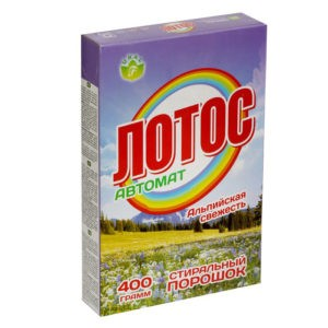 Порошок стиральный Лотос-автомат ТУ 400гр