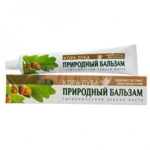 Природный Бальзам Зубная паста Кора Дуба 100гр
