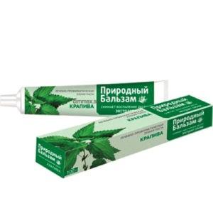 Природный Бальзам Зубная паста Крапива 100гр