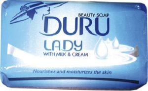 Туалетное мыло DURU LADY MILK&CREAM (Молоко и крем) 140гр