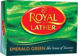 Туалетное мыло ROYAL LATHER EMERALD GREEN 150гр