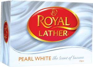Туалетное мыло ROYAL LATHER PEARL WHITE 150гр