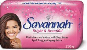 Туалетное мыло SAVANNAH BREIGHT BEAUTIFUL 150гр