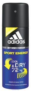 ADIDAS Дезодорант для мужчин Sport Energy 150мл