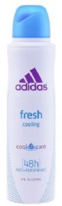 ADIDAS Дезодорант Cool & Care Woman APD Spray Fresh 150мл