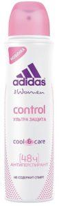 ADIDAS Дезодорант Cool & Care Woman Spray Control 150мл