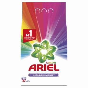 ARIEL Порошок стиральный авт Color 3кг