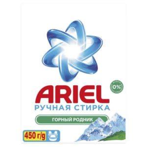 ARIEL Порошок стиральный  руч Горный родник 450гр