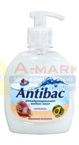 Antibac Жидкое мыло Антибактериальное Бархатная нежность 330мл
