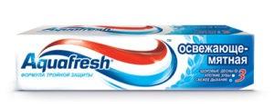 Aquafresh Зубная паста Освежающе-мятная 100мл