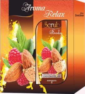 Aroma Relax Подарочный набор скраб 300мл+ Гель для душа 300мл