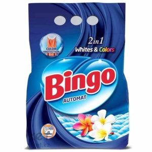 BINGO Порошок стиральный Автомат WHITE&COLORS 6кг