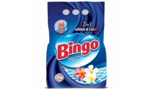 BINGO Порошок стиральный автомат WHITE&COLORS 1.35кг