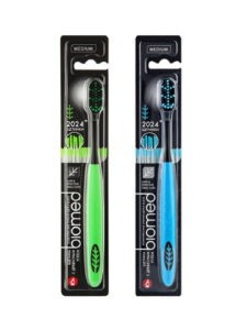 BIOMED Комплексная зубная щетка BLACK 1шт