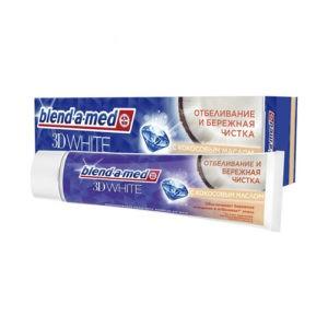 BLEND A MED Зубная паста 3D White с Кокосовым Маслом 100мл