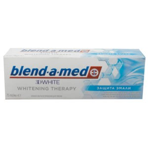 BLEND A MED Зубная паста 3D White Whitening Therapy Защита Эмали 75мл
