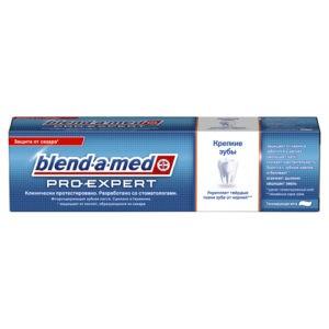 BLEND A MED Зубная паста ProExpert Крепкие зубы Тонизирующая мята 100мл