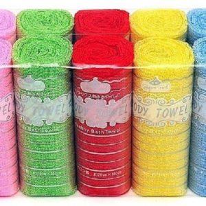 Body Towel Мочалка для душа рулон 1шт