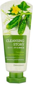 Cleansing Story Очищающая пенка для лица с Экстрактом Огурца 120мл