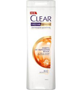 Clear Шампунь Жен Защита от выпадения волос 400мл