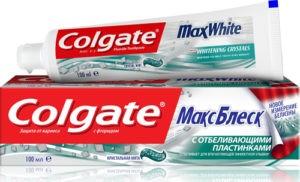 Colgate Зубная паста Макс Блеск Кристальная Мята 100мл
