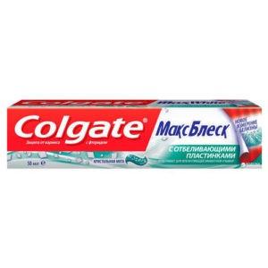 Colgate Зубная паста Макс Блеск Кристальная Мята 50мл