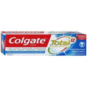 Colgate зубная паста Total 12 Про видимый эффект 75мл