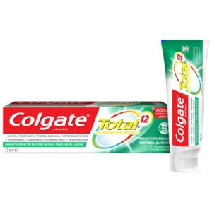 Colgate зубная паста Total 12 Про здоровое дыхание 75мл