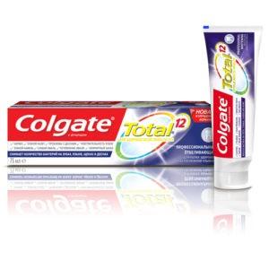 Colgate зубная паста Total 12 профессиональное отбеливание 75мл