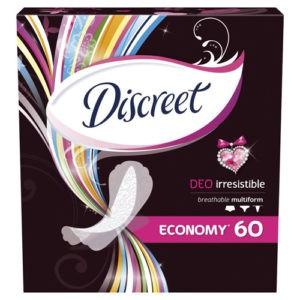 DISCREET Женские гигиенические прокладки на каждый день Deo Irresistible Multiform Trio 60шт