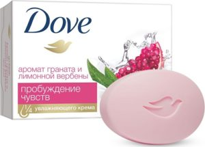 Dove крем-мыло с ароматом граната 100гр