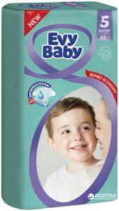 Evy Baby Подгузники Junior Jumbo 11-25кг №5 48шт
