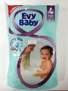 Evy Baby Подгузники Maxi 7-18кг №4 4шт